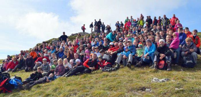 Na 4. výstup Titusa Zemana prišlo vyše 200 turistov