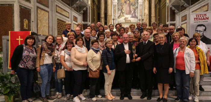 Eucaristía en honor al Beato Don Titus Zeman, SDB